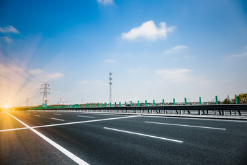 traffic of road