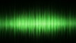 Green waveform background (seamless loop)