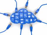 Ñloud computing concept