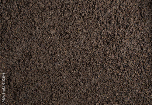 Leinwandbild Motiv Soil texture background