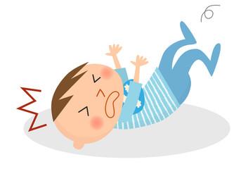 乳幼児-転倒