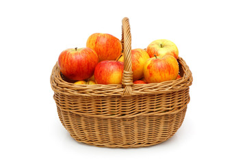 topaz apples in basket