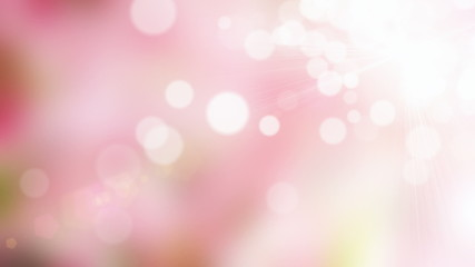 Spring pink motion background (seamless loop)
