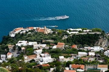 Blick auf Conca dei Marina