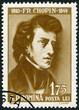 ROMANIA - 1960: shows Frederic Chopin (1810-1849)