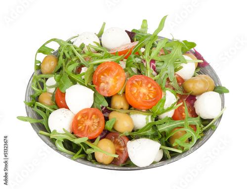 salad mozzarella