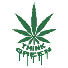 Think Green Weed