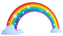 Bild mit Regenbogen Thema 1