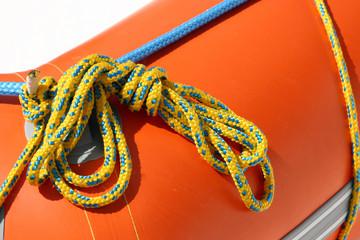 Fastening ropes