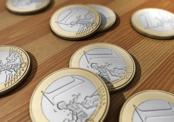 Euromünzen, Geld