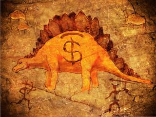 prehistoric piggy bank