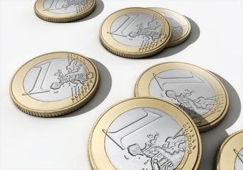 Euro, Münzen, Geld