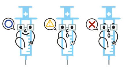 予防接種キャラクター