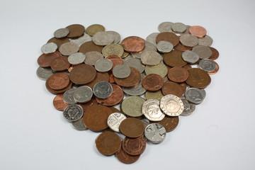 love heart of money