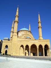 レバノンの首都ベイルートにあるムハンマド・アミーン・モスク