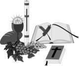 Fototapety Symbole i przedmioty religijne