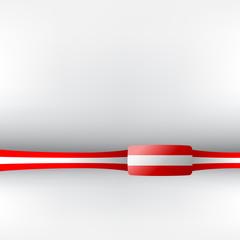 Banner in österreichischen Farben