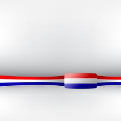 Banner in niederländischen Farben