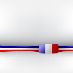 Banner in französischen Farben