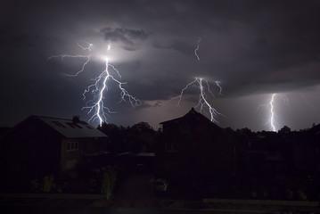 Blitze in der Nacht