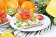 Leichtes und vitaminreiches Frühstück