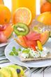 Kalorienarm und vitaminreich frühstücken