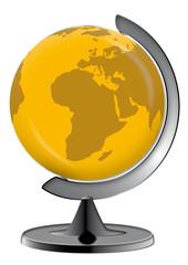 Globus im Ständer, global, Erde, Erdball, Business, Geographie,