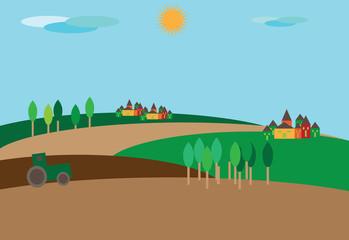 campagna coltivata