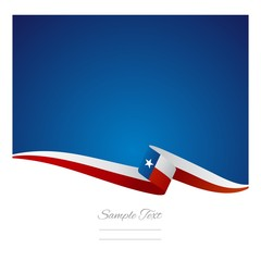 Abstract color background Texas flag vector