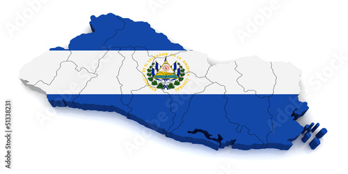 3D Map of El Salvador