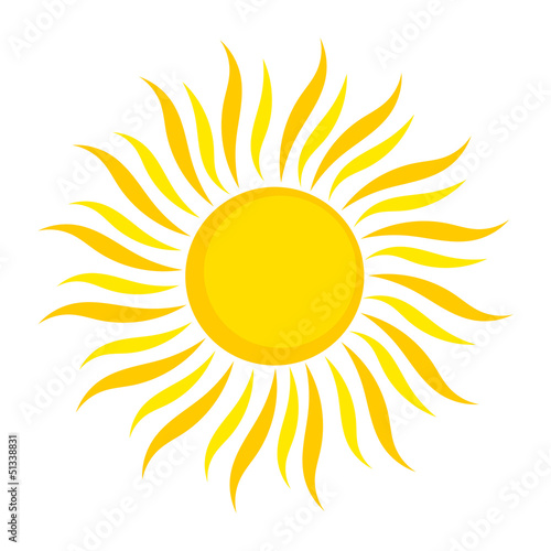 Sun illustration