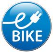 Blauer Button eBike