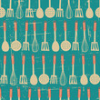 Retro Kitchen Pattern