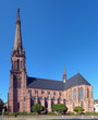 Catholic church of St. Bernard in Karlsruhe, Germany