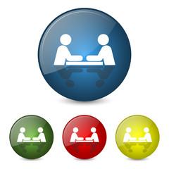 seminar-coaching-meeting icons