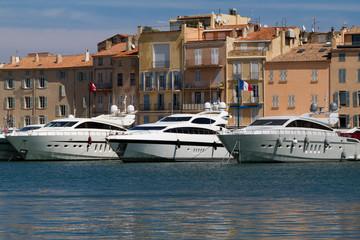 Hafen von Saint-Tropez