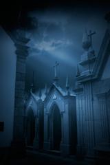 Mysterious European Cemetery