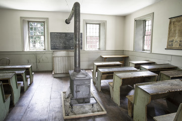 One-room School in Farmer's Museum