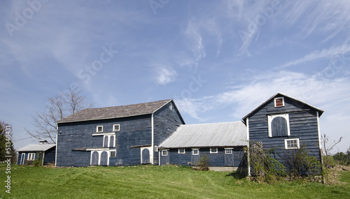 A collection of stylish barns
