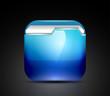 Glossy folder icon