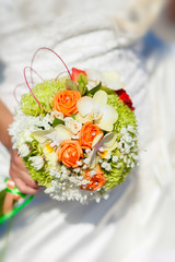 wedding flowers bouquet of bride