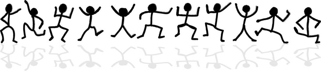 stick figure dance