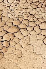 Tierra seca, sequía del verano