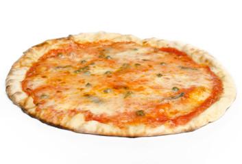 Pizza con capperi