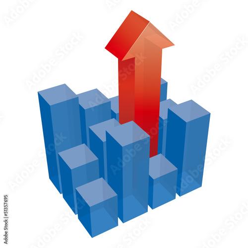 立体棒グラフ