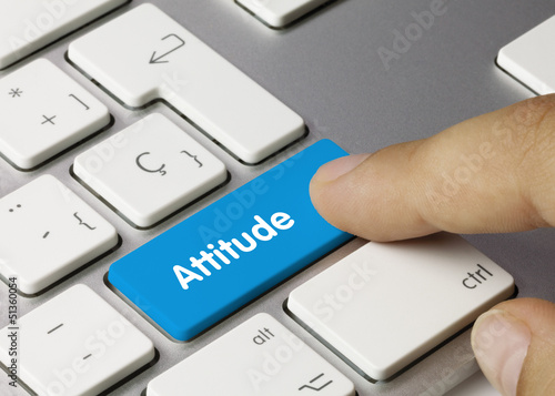 Attitude keyboard key
