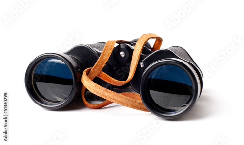 The Army Binoculars on a white background