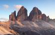 Italy Alps moutnain - Tre Cime di Lavaredo