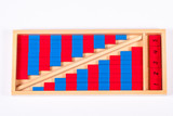 Montessori Number Rods Set