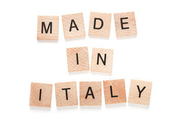 Made in italy - legno